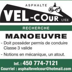 Asphalte Vel-Cour