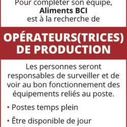 BCI Foods Inc.
