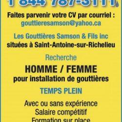 Les Gouttières Samson et Fils Inc.