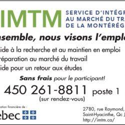 Service d'Intégration au marché du Travail de la Montérégie