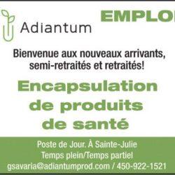 Adiantum Production inc.