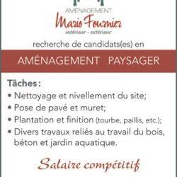 Aménagement Mario Fournier Inc.