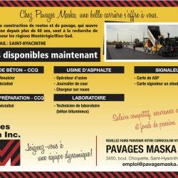 Pavages Maska