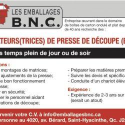 Les Emballages B.N.C.